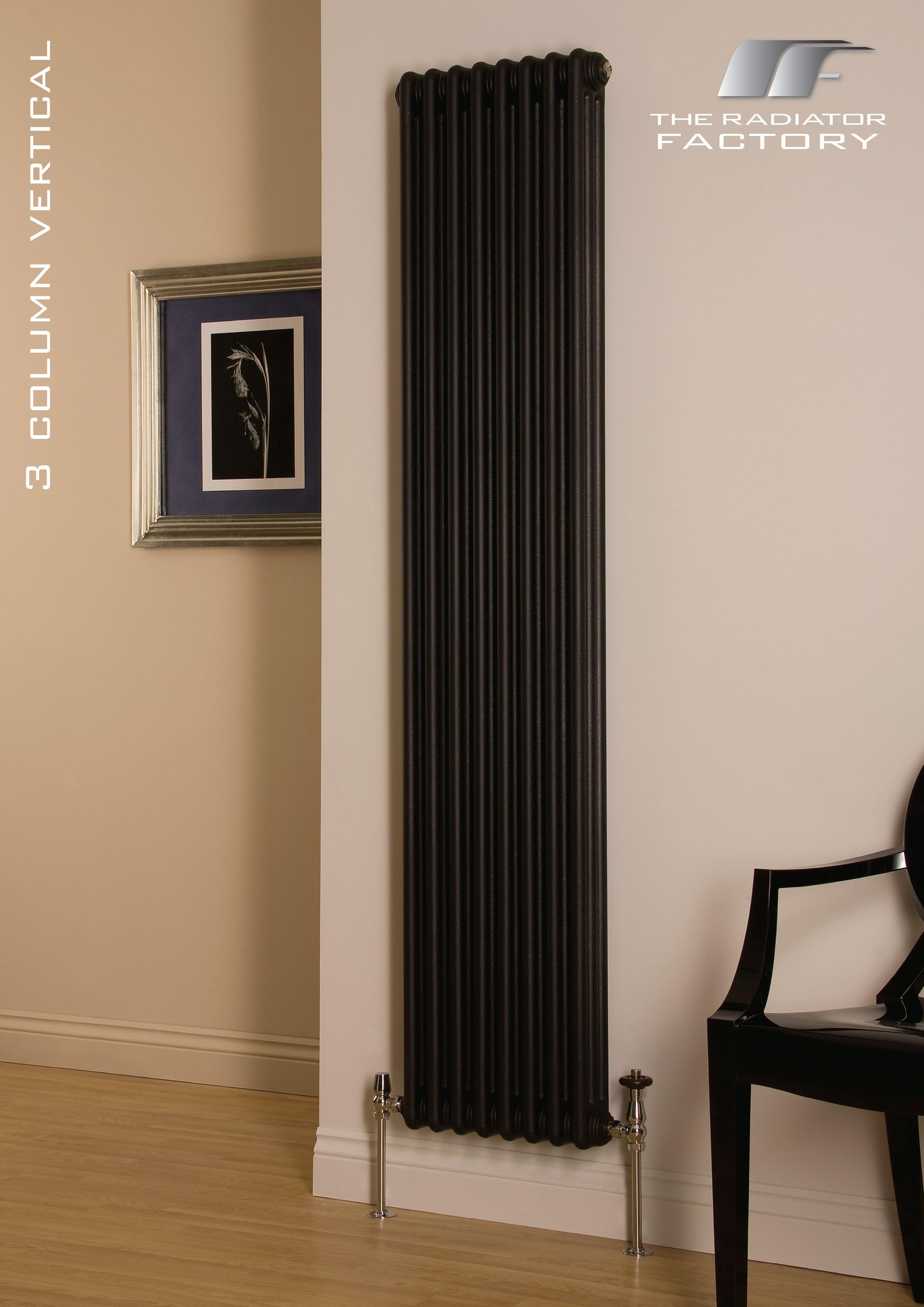 Cru 3 Column Vertical Radiator Curving Ltd