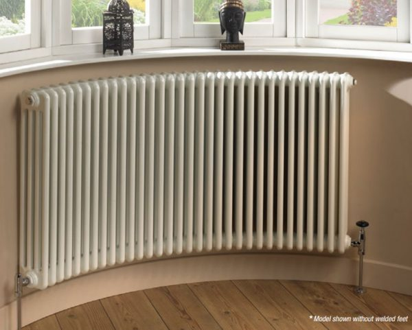 Cru curved 2 3 4 5 6 column radiator curving ltd for Curved bay window
